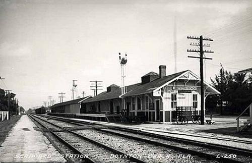 Boynton Beach train station