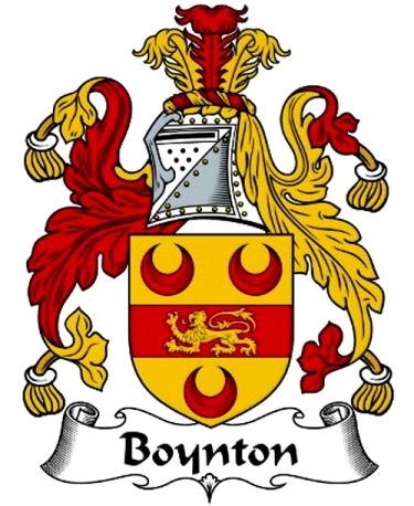 Boynton coat of arms