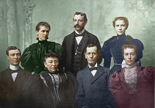 Nathan S Boynton and family